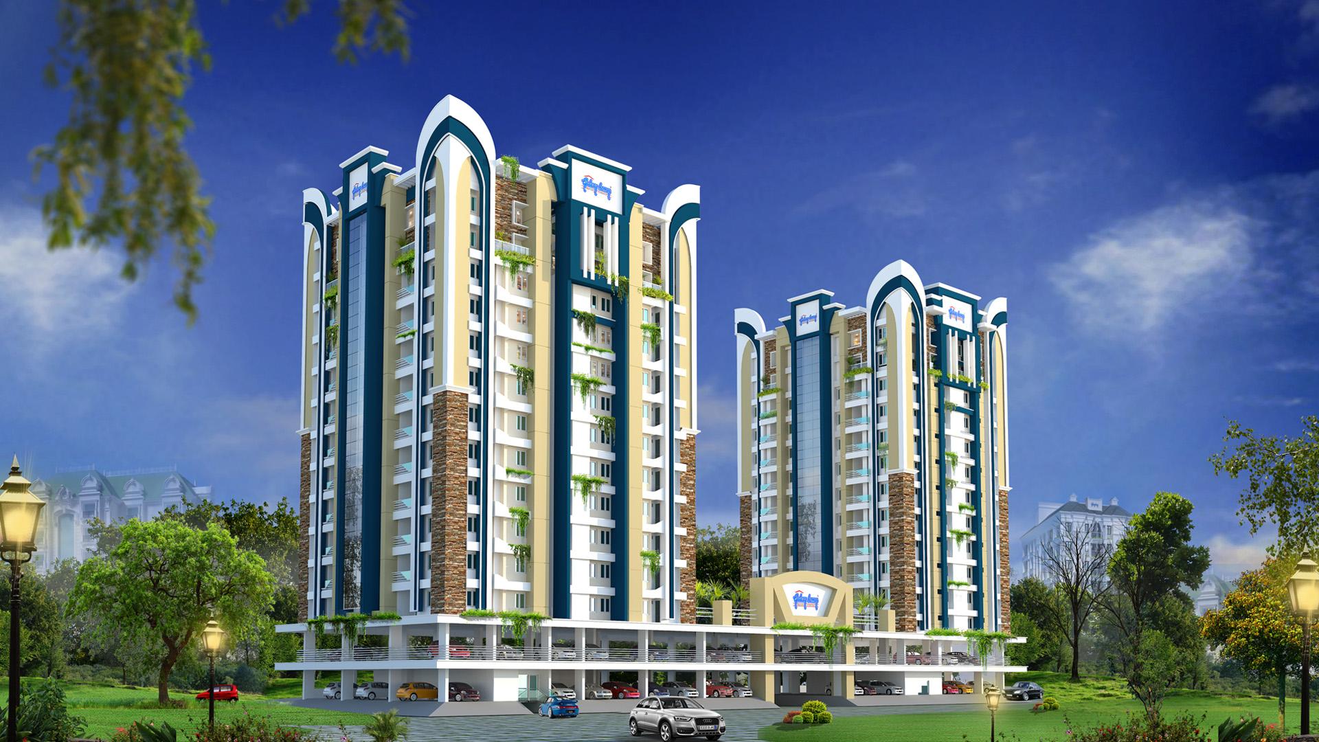 apartments in panampilly nagar
